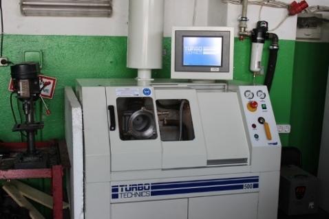 Ремонт турбин для спецтехники